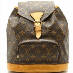 Authentic MM Louis Vuitton vintage backpack